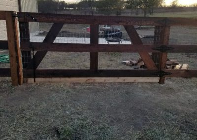 3 Rail Farm Gate