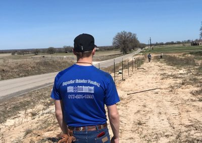 Cattle Fence Installation