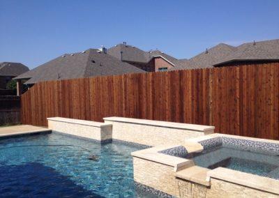 Cedar Pool Fence