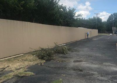 R-Panel Metal Fence
