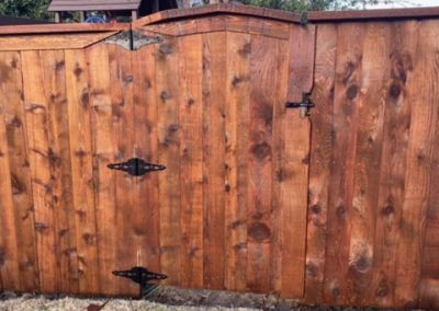 Custom Wood Walk Gate