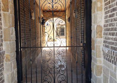 gorgeous wrought iron gate