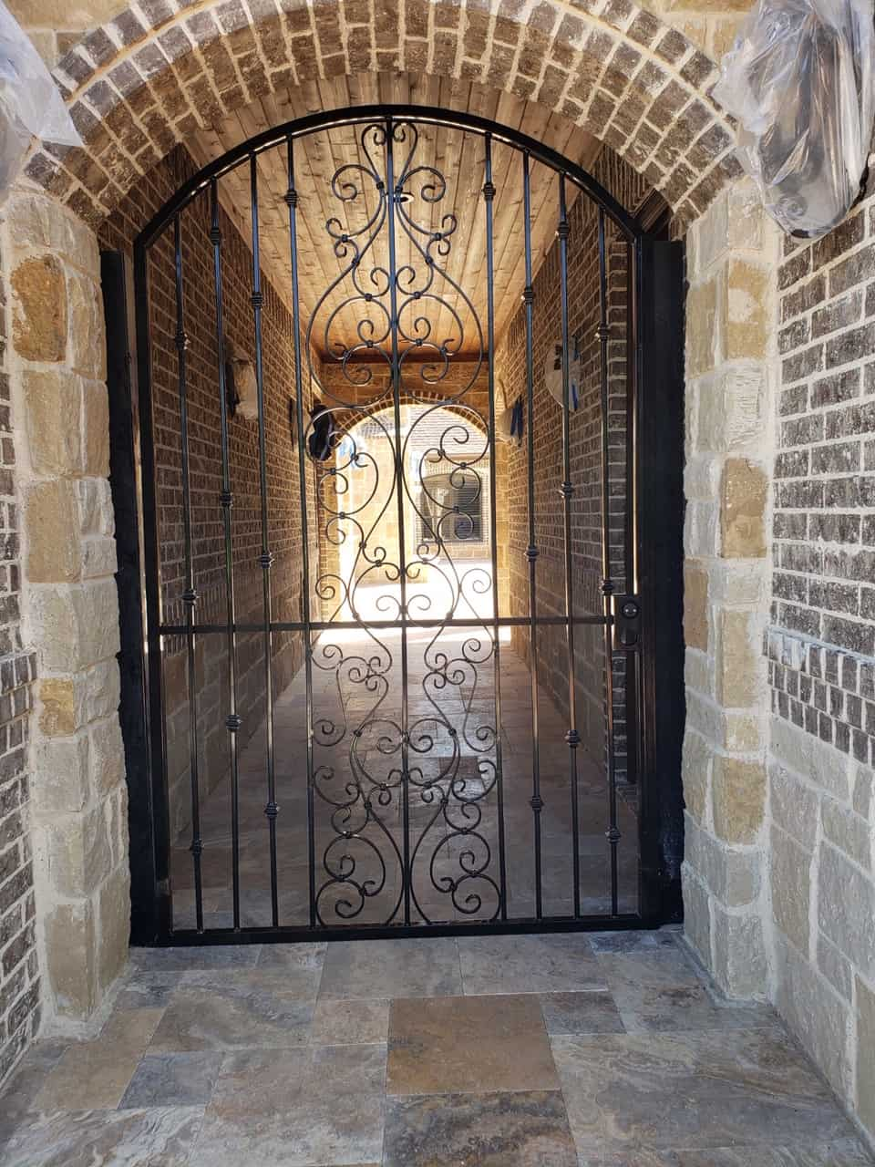 gorgeous wrought iron gate